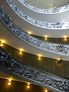 In the Vatican Museum (Spiral Exit Staircase)