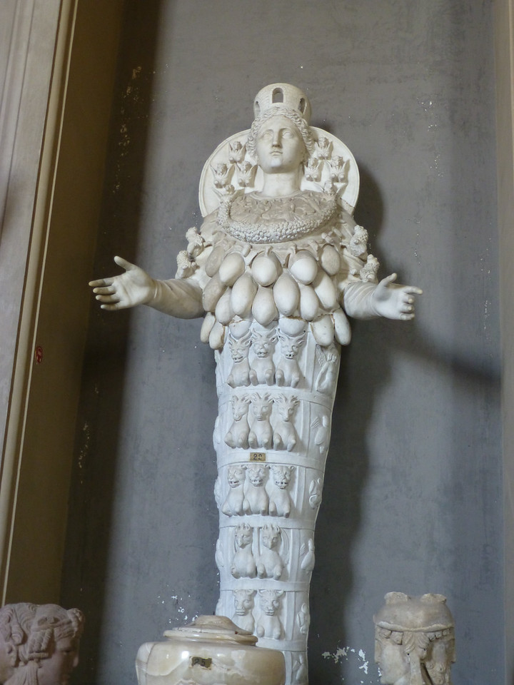 In the Vatican Museum