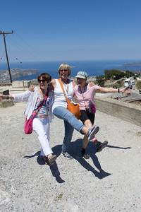 Mount Prophet Elijah dancers Dava, Deanna, Lois