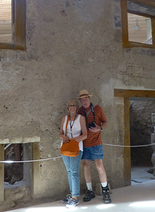 Deanna and Glenn at Akrotiri