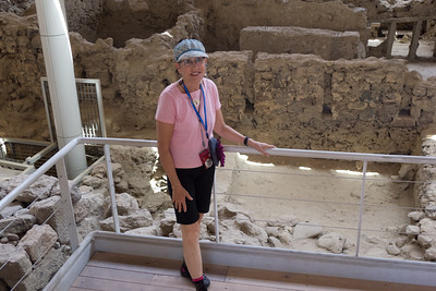 Lois at Akrotiri