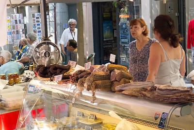 Typical market scene, Marchés de Provence