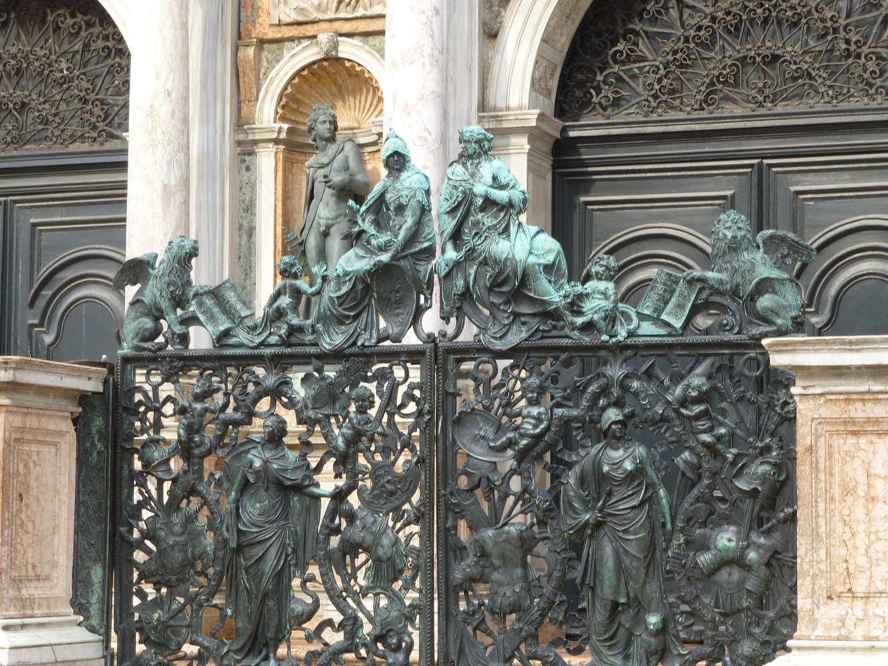 Gate to the Campanile entrance