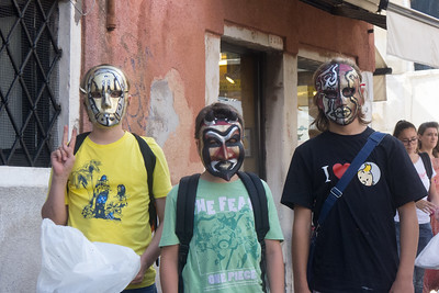 Masks in Campo San Barnaba