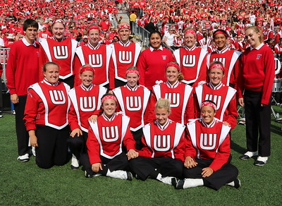 2014  Meet the ranks and student band staff of the Wisconsin Band