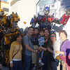 at Universal Studios with the transformers. Micah got to ride on the transformers ride as well.