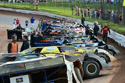 Starting Lineup @ Midway Speedway