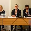 From left: Members of the Parliamentary Committee Ms Katrin Jakobsdottir, Ms Katrin Juliusdottir, Mr Gudlaugur Thor Thordarson, Mr Willum Thor Thorsson and Mr Vilhjalmur Bjarnason