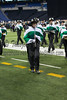 Monrovia Bulldog Brigade performing at the ISSMA State finals at Lucas Oil Stadium in Indianapolis, IN. Photo by Eric Thieszen.