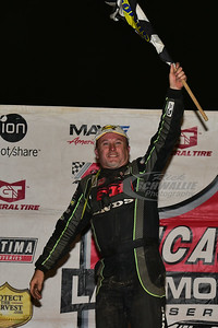 Jimmy Owens in Victory Lane