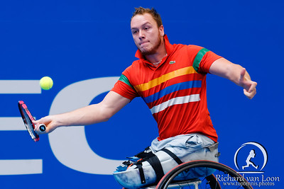 01.04 Nicolas Peifer - finals - NEC wheelchair tennis masters 2014-01.04