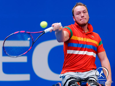 01.06 Nicolas Peifer - finals - NEC wheelchair tennis masters 2014-01.06