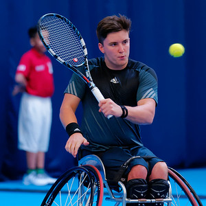 02.02 Gordon Reid - semi finals - NEC wheelchair tennis masters 2014-02.02