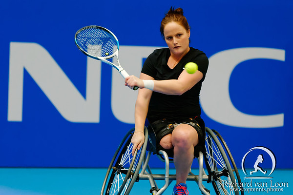 01.07 Aniek van Koot - finals - NEC wheelchair tennis masters 2014-01.07