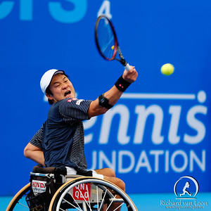 01.03 Shingo Kunieda - finals - NEC wheelchair tennis masters 2014-01.03