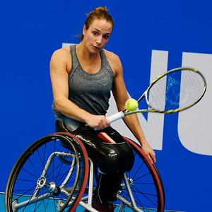 01.12 Jiske Griffioen - finals - NEC wheelchair tennis masters 2014-01.12