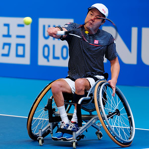 01.02 Shingo Kunieda - finals - NEC wheelchair tennis masters 2014-01.02