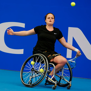 01.09 Aniek van Koot - finals - NEC wheelchair tennis masters 2014-01.09
