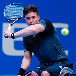 02.01 Gordon Reid - semi finals - NEC wheelchair tennis masters 2014-02.01