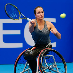 01.11 Jiske Griffioen - finals - NEC wheelchair tennis masters 2014-01.11