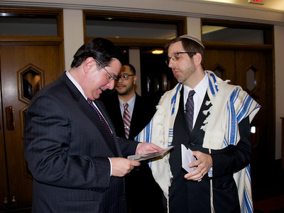 Mayor Peduto at Shabbat Evening Services, 2/28/14