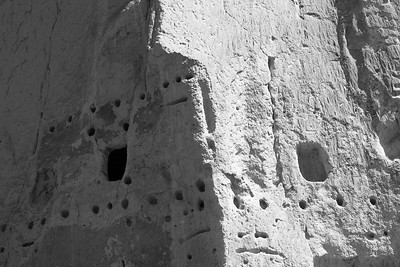 Cliff Dwelling Shadow and Light, Bandelier National Monument