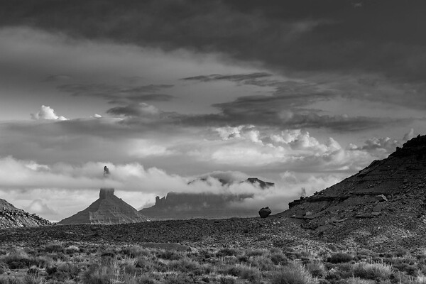 Clouds Over Monument Valley, Arizona