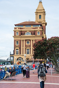 Auckland ferry building.