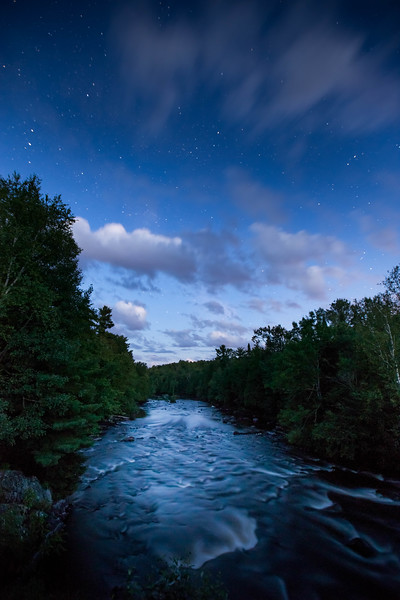 Wolf River  Twilight at HWY A