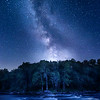 Milky Way Over The Wolf River