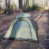 Park Service bear-test tent