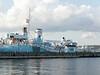 WWII escort corvette HMCS Sackville