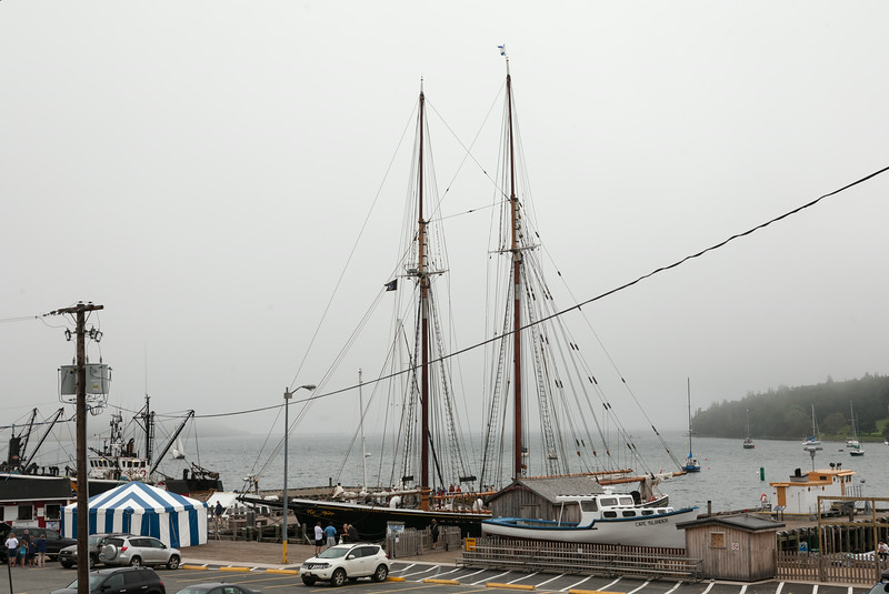 Bluenose II at dock