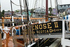 Bluenose II, ramp