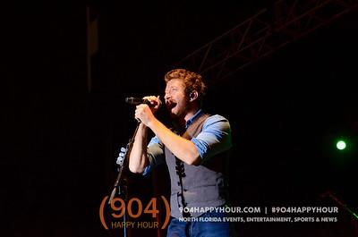 Brett Eldredge at Jacksonville Fair - 11.12.14