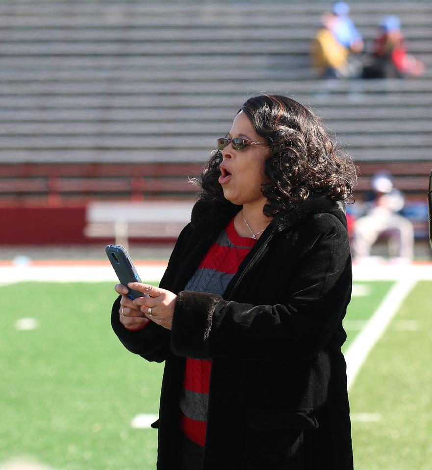 Football vs Presbyterian Senior day.