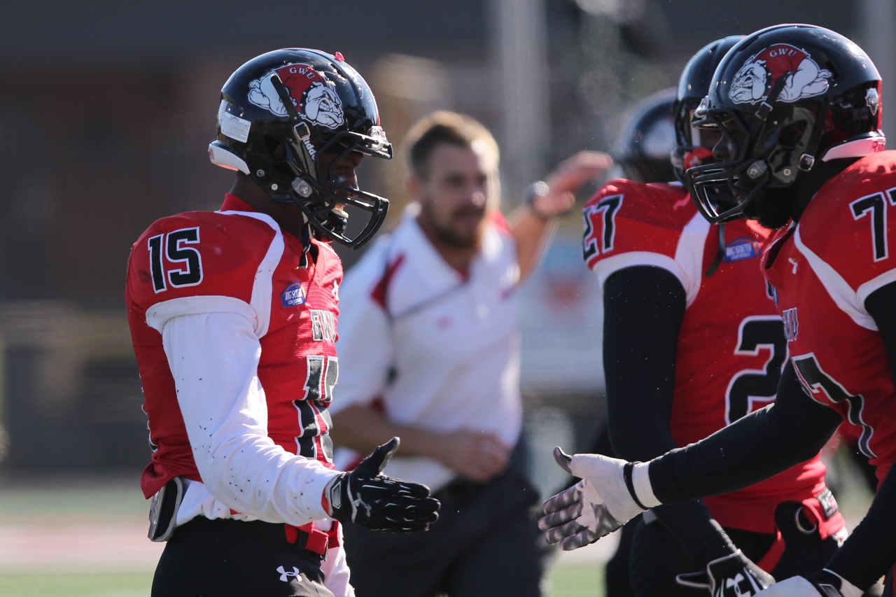 Gardner-Webb Runnin' Bulldogs suffer a tough loss against Presbyterian College on Saturday, Nov 15, 2014.