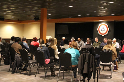 On Wednesday night, November 19th, a panel made up of currently homeless, transitioning homeless, and men who work at shelters visited Gardner-Webb and shared their testimonies as well as answered any questions they were asked. It was an awesome night to hear how God is working in the lives of each and every person.