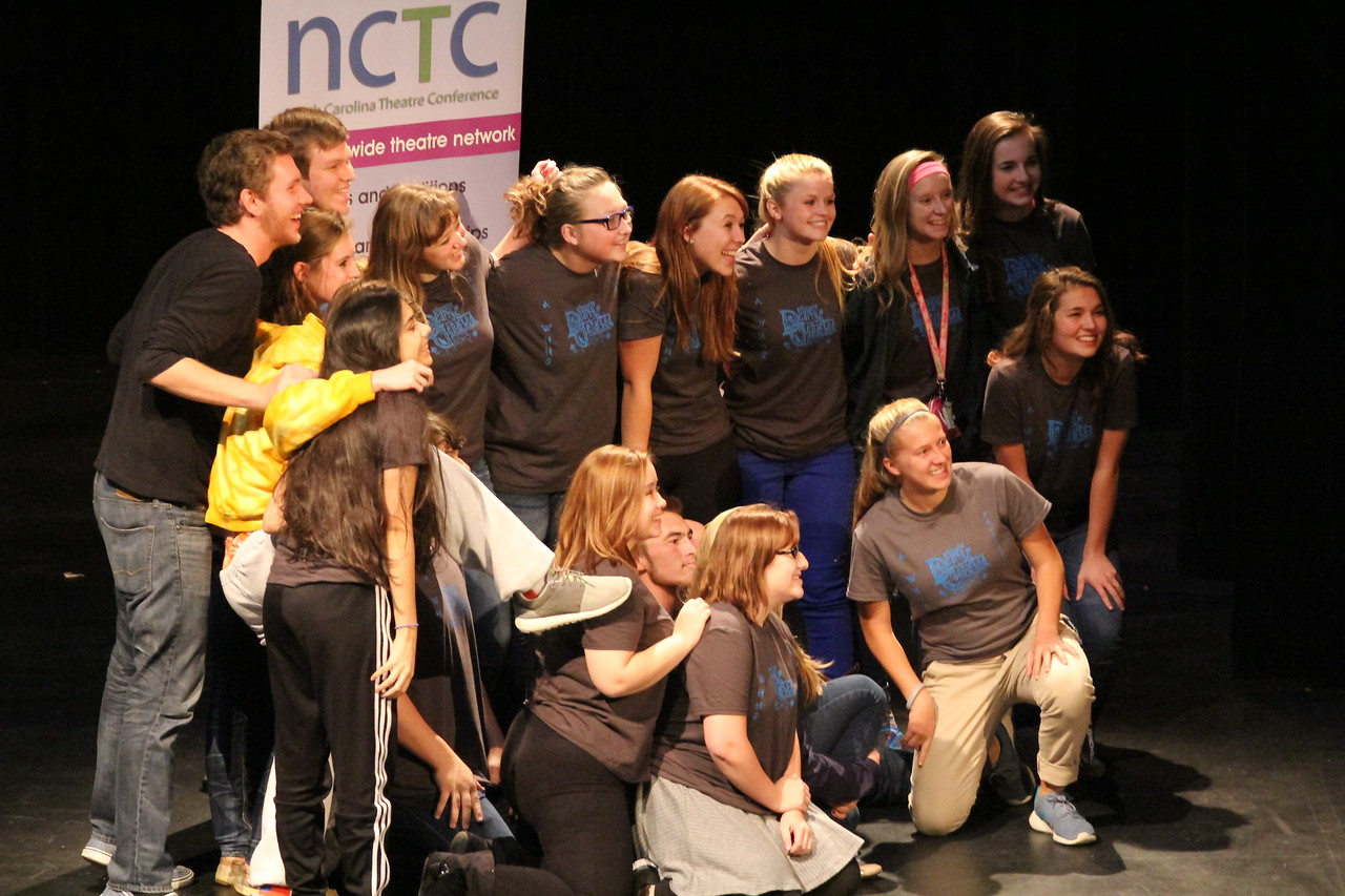 On Saturday night, November 7th at 8:15 NCTC participants received awards such as the Arts Award, Student Design & Production Award, Excellence in Acting, Outstanding Achievement in Acting, Excellence in Ensemble Acting, Excellence in Directing, and the Distinguished Play Award.