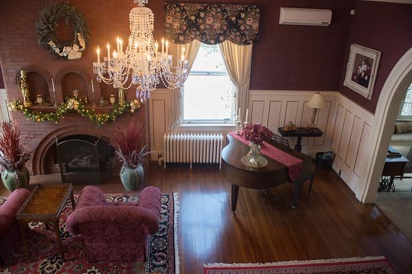 JOED VIERA/STAFF PHOTOGRAPHER-Lockport, NY-Christmas decorations are up at the Cavallaris home. Friday, November, 21 2014.