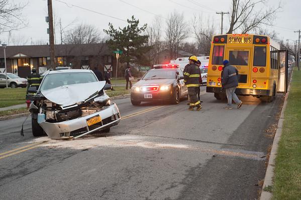 JOED VIERA/STAFF PHOTOGRAPHER-Lockport, NY-the scene of an accident on Davison Road . Tuesday, November, 25 2014.