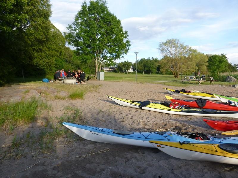 Nybörjarturer börjar med en förträff på Edsviken