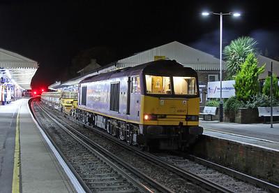 60049 Basingstoke 25/10/14 6N07 Eastleigh to Basingstoke (Cheers GG for the headsup !)