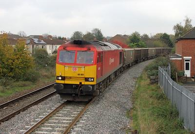 60001 Eastleigh 30/10/14 7V16 Fareham to Westbury