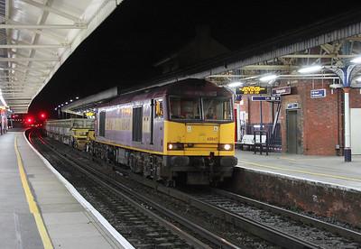 60049 Basingstoke 25/10/14 6N07 Eastleigh to Basingstoke