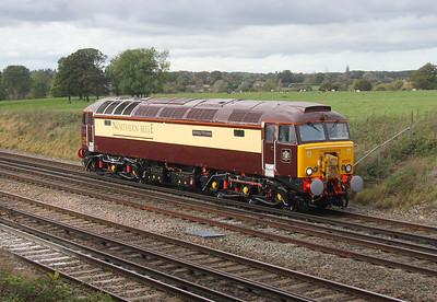 57312 Potbridge 20/10/14  0Z68 Eastleigh to Willesden Brent