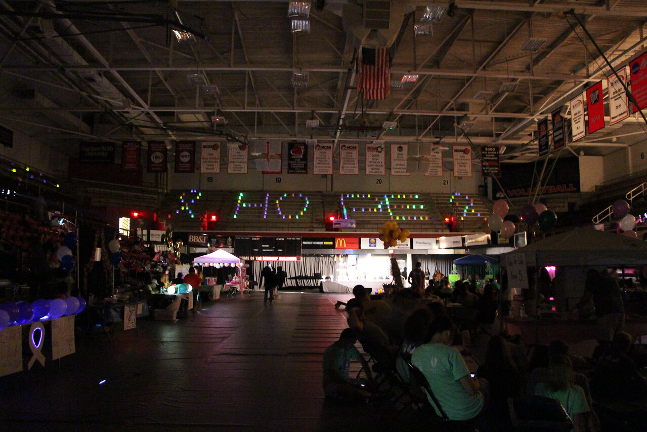 Relay For Life Event, October 11, 2014 Photo By Hannah Haggerty