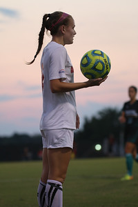 GWU women's soccer falls to Coastal Carolina wednesday, October 1st. Photos by Hannah Covington