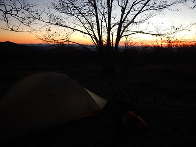 October 24 -27 Nantahala National Forest