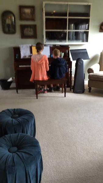John & Iris at the Piano